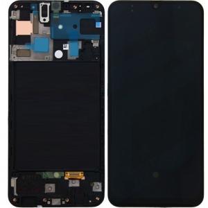 Màn Hình Zin Galaxy A50 SM-A505 Có Khung